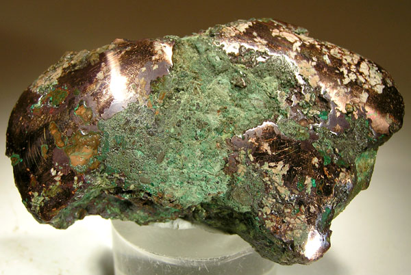 A 12-ounce nugget of native copper found in Michigan. (Credit: Rob Lavinsky, Wikimedia Commons)