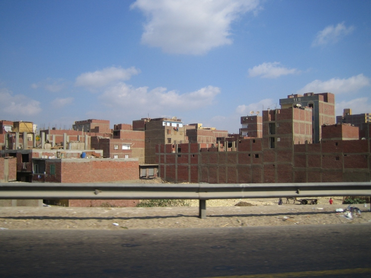 First impressions of Cairo (Credit: someone in my family, it's too long ago to say for sure)