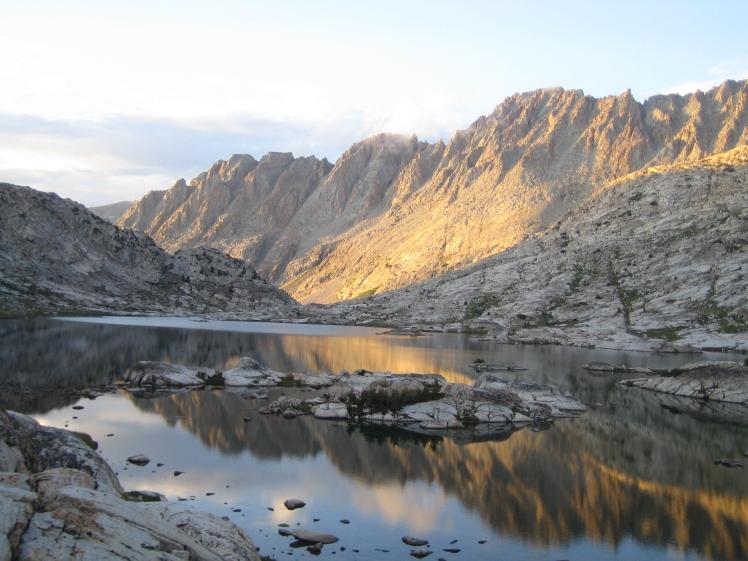 Granite in the Sierra Nevada mountains of California. (Credit: Julia Rosen)